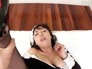일본 팬티 스타킹 메이드 섹스 나일론 섹스