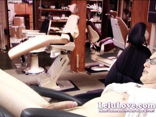lelu love 여성 치과 의사가 환자를 유혹하다.