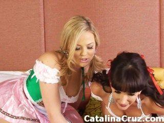 catalina cruz lesbian alexis texas의 라이브 섹스