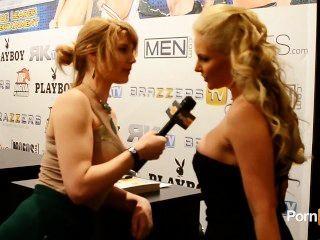 2013 AVN 어워드에서 피닉스 마리 인터뷰