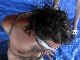 파란 칩.3 가지 유형의 암컷 흉부 사정 .hilliliated man by sylvia chrystall