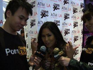 jusica bangkok 인터뷰 : 2014 년 AVN 시상식