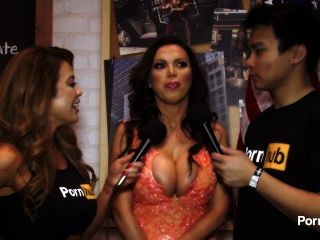 pomhubtv nikki benz interview at 2015 avn 상