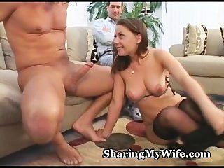 wifey에서 naughtiness cums