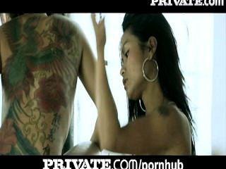 개인 : 항문 아시아 문신 십대 목욕 삼인조!
