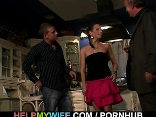 젊은 아내를위한 깜짝 놀람