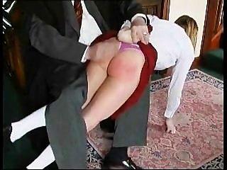 이 엉덩이에 처벌이 필요해.