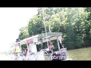 오즈 락 미주리의 파티 코브 호수에서 실제 생활 홈 비디오