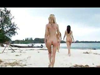 완벽한 해변 아가씨들!