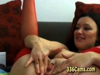 웹캠에 뜨거운 여자 음부와 엉덩이 딜도 라구 딜도 펌프