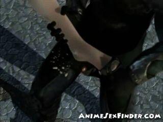 3D 소녀 나쁜 기사에 의해 dped 가져옵니다!
