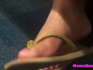 섹시한 솔직한 발과 발바닥
