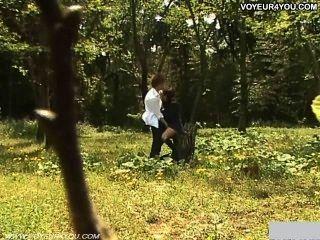 야외 정원 하루 종아리 여학생