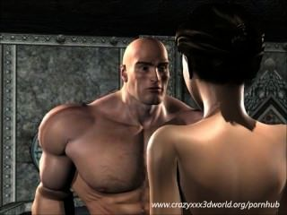 3D 애니메이션 : 오우거 킹 달콤한 베이비