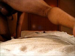 남자 엉덩이, 엉덩이에 큰 딜도 라구 딜도와 섹스