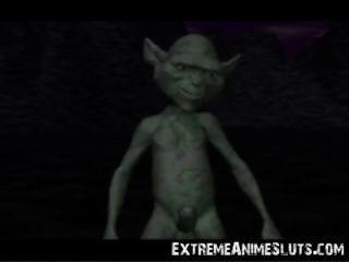 공주에 3d 외계인!