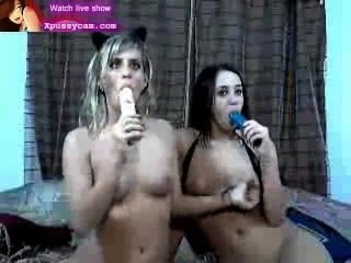 섹시한 레즈비언 라이브 쇼