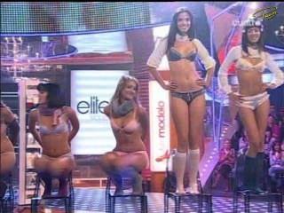 supermodelo 2007 lencería (paloma bloyd, 이사벨 cañete, 막달레나 페레즈 ..)