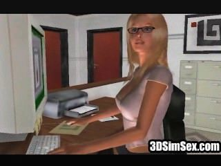 3d sim 섹스 레즈비언