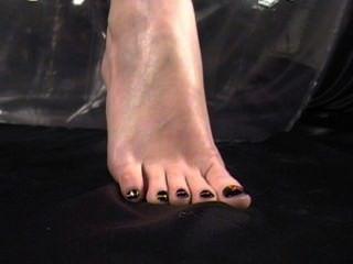섹시한 발 놀림