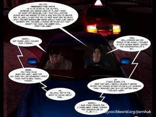 3D 만화 : 악의적 인 의도.에피소드 9