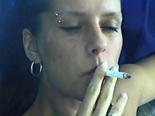 소녀 흡연 davidoff 매그넘 담배 pt.2