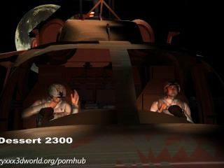 3d 애니메이션 : 외계인 침공.에피소드 1
