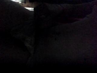 작은 망간 크로스 드레서 하얀 란제리 자위