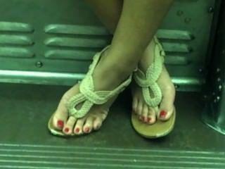 열렬한 아시아 섹시 피트의 열차