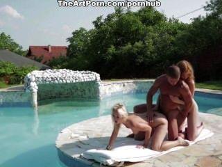더운 여름날 섹시한 모험