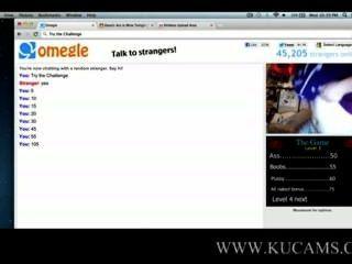 omegle에 wil freaky 소녀 www.kucams.com