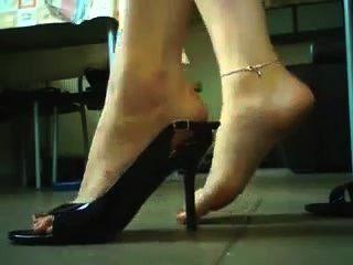 하이힐과 신발 놀이