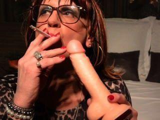 cynthia cd / tv 그녀의 딜도 라구 딜도에 연기가 자욱한 bj 연습