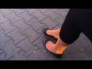 발레 아파트 및 나일론 신발