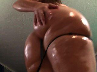 아름다운 큰 엉덩이