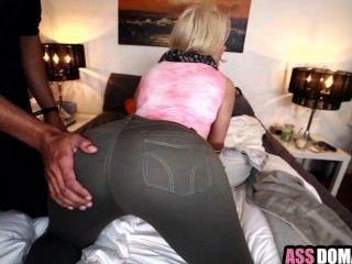 큰 엉덩이 금발 백인 여자 anikka albrite는 hard_1.1 망했어.