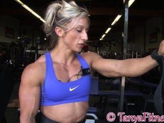 근육 금발 훈련 파트 2