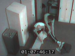 보안 카메라 성교