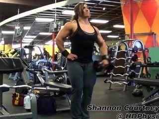 섀넌 C 체조 근육 (전체)