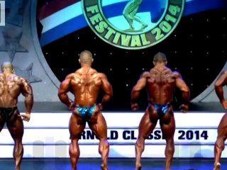 근육 황소 : arnold classic 2014 212 결승 경기 알림