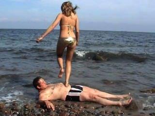 최고의 바다 해변 footworship 1
