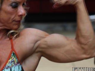 여성 근육
