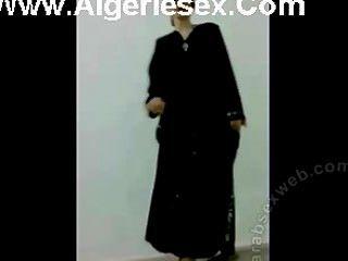 섹시한 란제리의 Iraqi 스트립 댄스