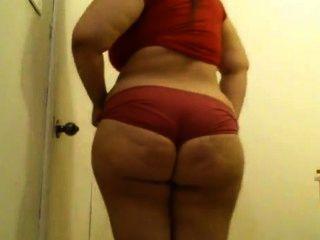 내 엉덩이 보여주기.