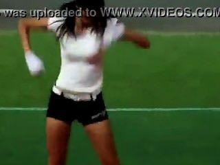뜨거운 한국 치어 리더 섹시 댄스