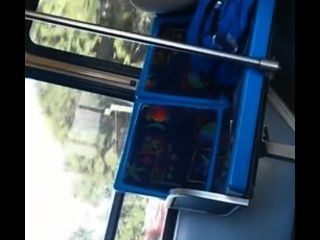 시내 버스에서 부하를 쏴