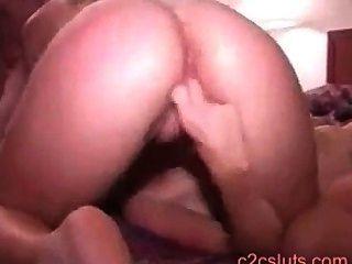 아마추어 홈 비디오 제작.내 아내, 처음 레즈비언 섹스
