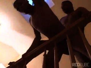 계단에서의 섹스