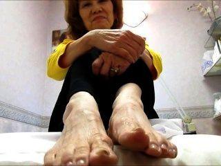 김 할머니 더러운 발바닥