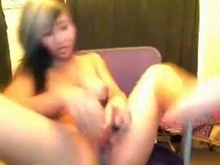 호색한 아시아 소녀